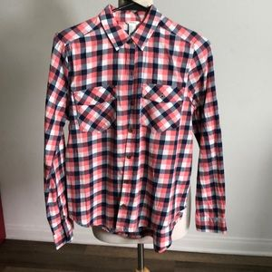 Forever 21 long sleeve plaid button down